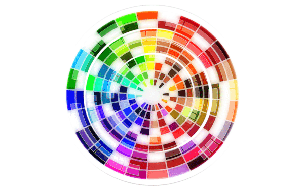 Stylised Colour Wheel